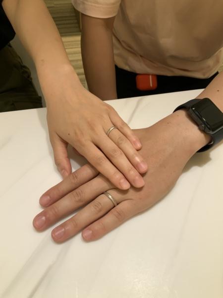 神戸パイロットブライダル結婚指輪1