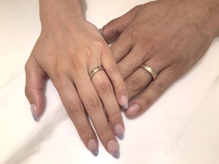 宝塚市 アラジンの結婚指輪