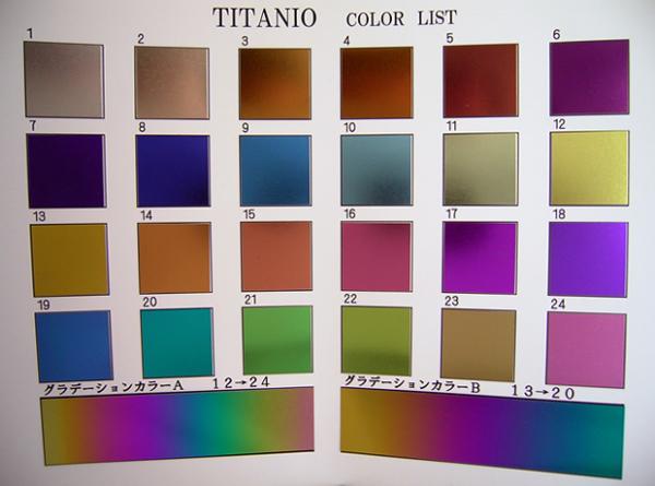 titanio color