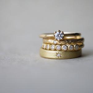 インスタグラムで大人気のYUKA HOJOの指輪が着け比べできます!!