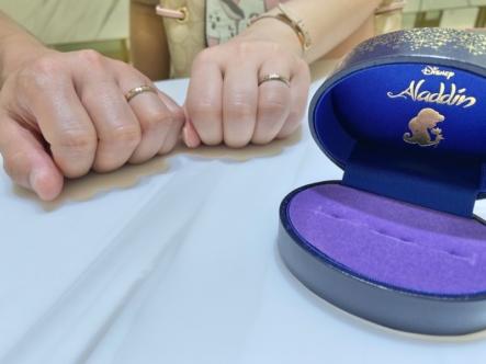 三木市 アラジンの結婚指輪