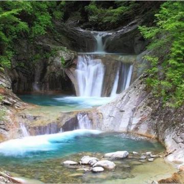 神戸のサプライズプロポーズ 七ツ釜五段の滝