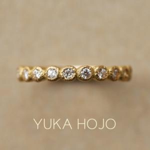 YUKA HOJO【ユカホウジョウ】のデザインが着け比べできます!!