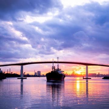 神戸のサプライズプロポーズ 中の島大橋