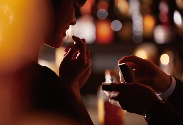 神戸 三宮でプロポーズ|人気の婚約指輪