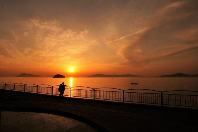 神戸のサプライズプロポーズ うたづ臨海公園