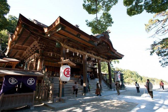 神戸のサプライズプロポーズ 金毘羅宮