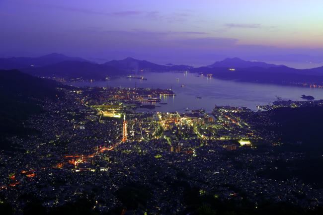 神戸のサプライズプロポーズ 灰ヶ峰