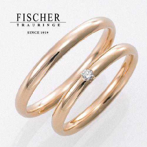 神戸姫路結婚指輪シンプルフィッシャー