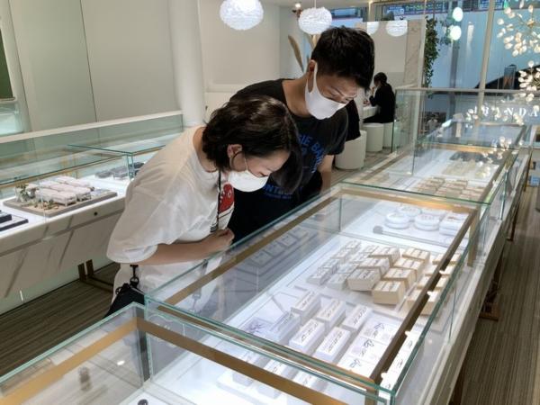 神戸市西区 PromiseRing(プロミスリング)の婚約指輪