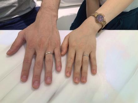 広島県福山市 ECTURO(エクトゥーロ)の結婚指輪