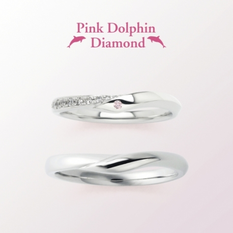 Pink Dolphin Diamond LD00087/00088 picture