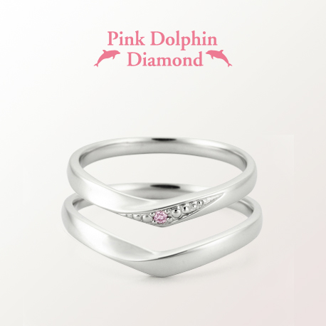 Pink Dolphin Diamond LD00017/00018 picture