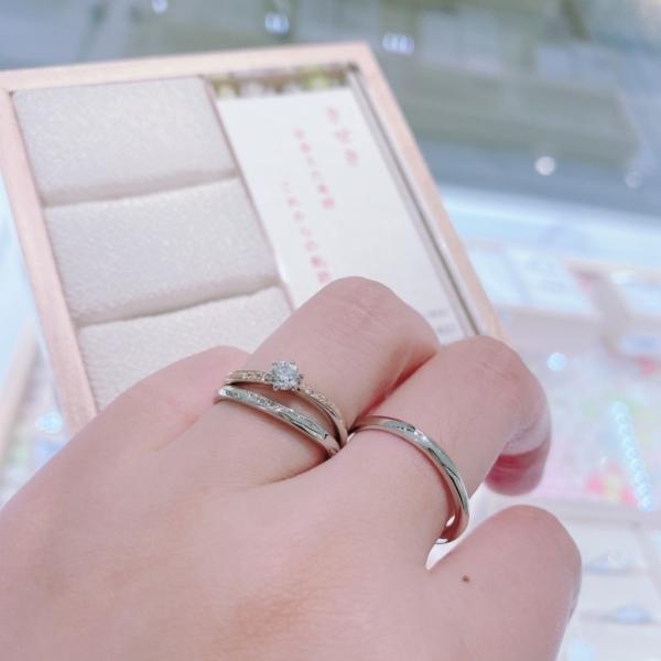 神戸市結婚指輪和ブランドひな「きせき」