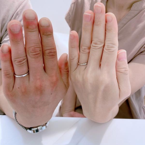 丹波市 Pulito(プリート)AMOUR AMULET(アムールアミュレット)の結婚指輪をご成約頂きました。