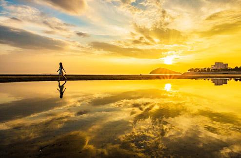 神戸のサプライズプロポーズ 父母が浜