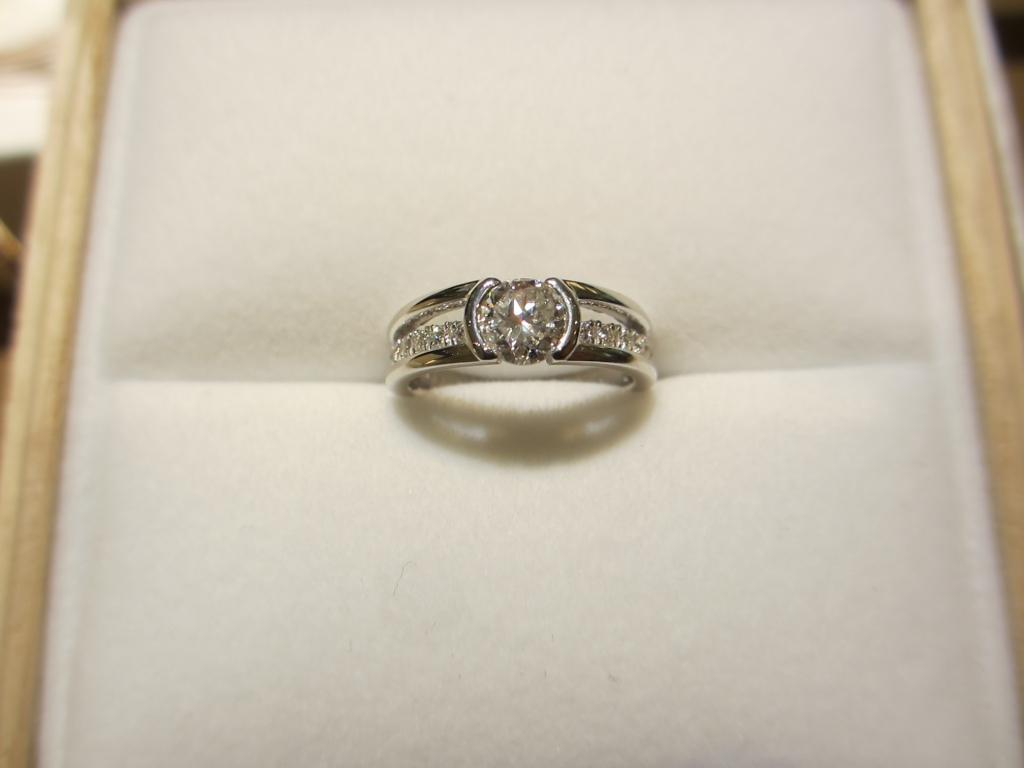 神戸三ノ宮|主人の母から譲り受けた婚約指輪をリフォーム
