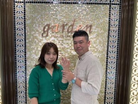神戸市東灘区 マリアージュエントの結婚指輪