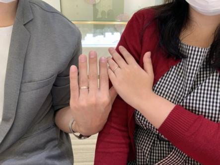 大阪府大阪市 フィッシャーの結婚指輪