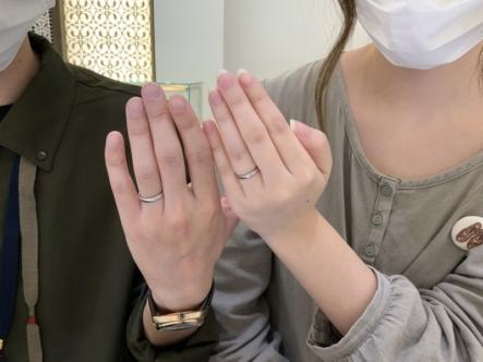加古川市 フィッシャーの結婚指輪