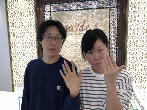 神戸市西区 アムールアミュレットの結婚指輪