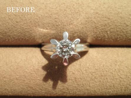 姫路|婚約指輪を20周年の記念によみがえらせたい