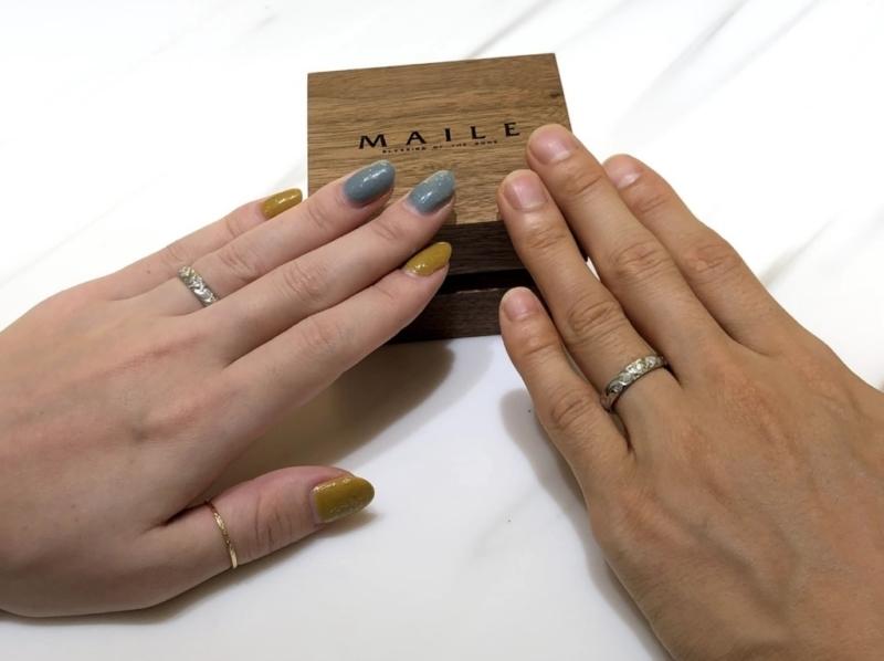 香川県 MAILEの結婚指輪