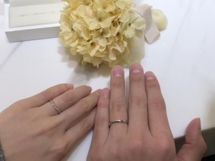 姫路市 Pulitoの結婚指輪