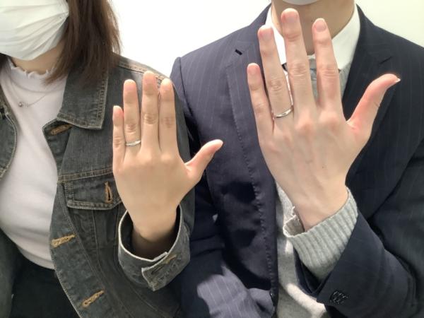 明石市 PilotBridalの結婚指輪