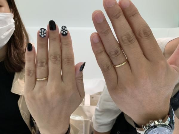 伊丹市 Joyeuxの結婚指輪