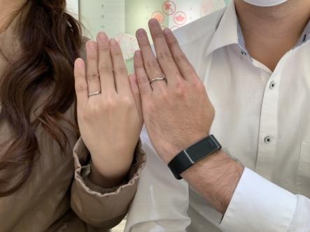 兵庫県尼崎市 Pink Dolphin Diamondの結婚指輪