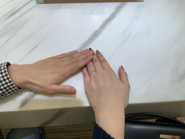 神戸市垂水区 Pilot Bridalの結婚指輪