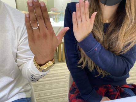 姫路市 Something Blueの結婚指輪