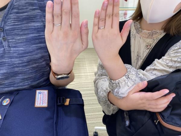 神戸市 FISCHERの結婚指輪