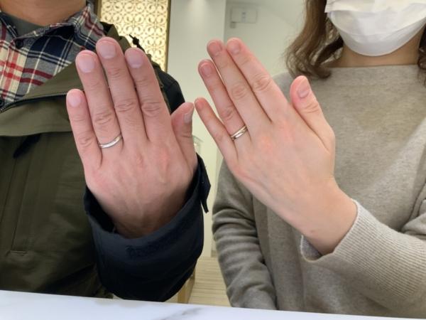 神戸市東灘区PilotBridal・FISCHERの結婚指輪