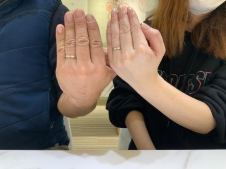 神戸市西区 パイロットブライダルの結婚指輪