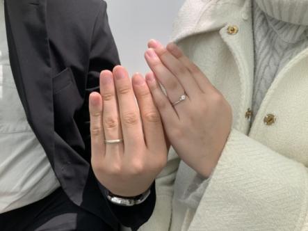 兵庫県加東市 GRAMAの結婚指輪