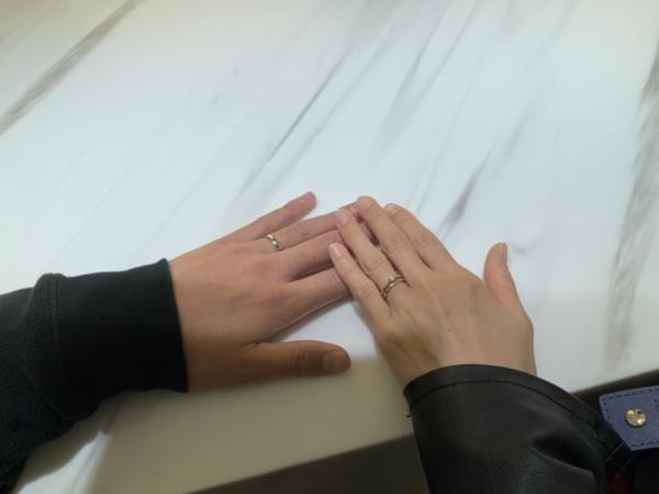篠山市 FISCHERの結婚指輪をご成約頂きました。