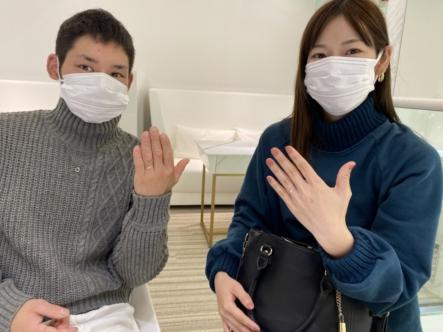 兵庫県西脇市 LAPAGEの結婚指輪