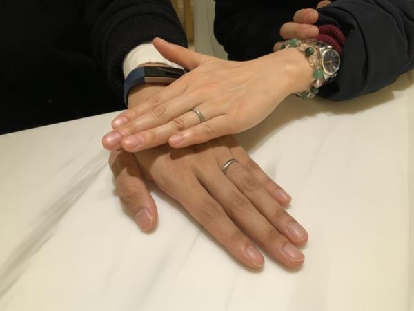神戸市東灘区 FISCHERの結婚指輪をご成約頂きました