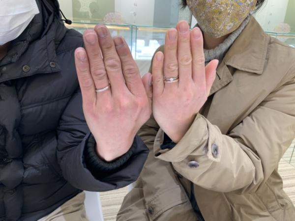 ラプンツェルの結婚指輪(神戸市兵庫区)
