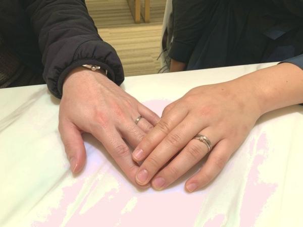 神戸市長田区 FISCHERの結婚指輪をご成約頂きました