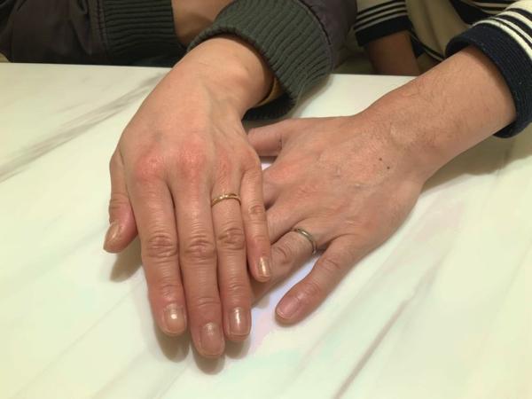 豊岡市 FISCHERの結婚指輪をご成約頂きました
