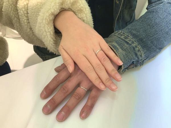 三田市 Aimeroir(エメルワール)の結婚指輪をご成約頂きました