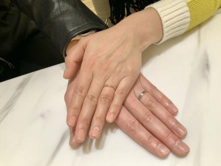 尼崎市 FISCHER(フィッシャー)の結婚指輪をご成約頂きました