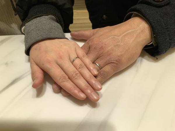 伊丹市 FISCHER(フィッシャー)の結婚指輪をご成約頂きました