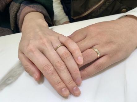 北区 Lettetmitteの婚約指輪、FISCHERの結婚指輪をご成約頂きました
