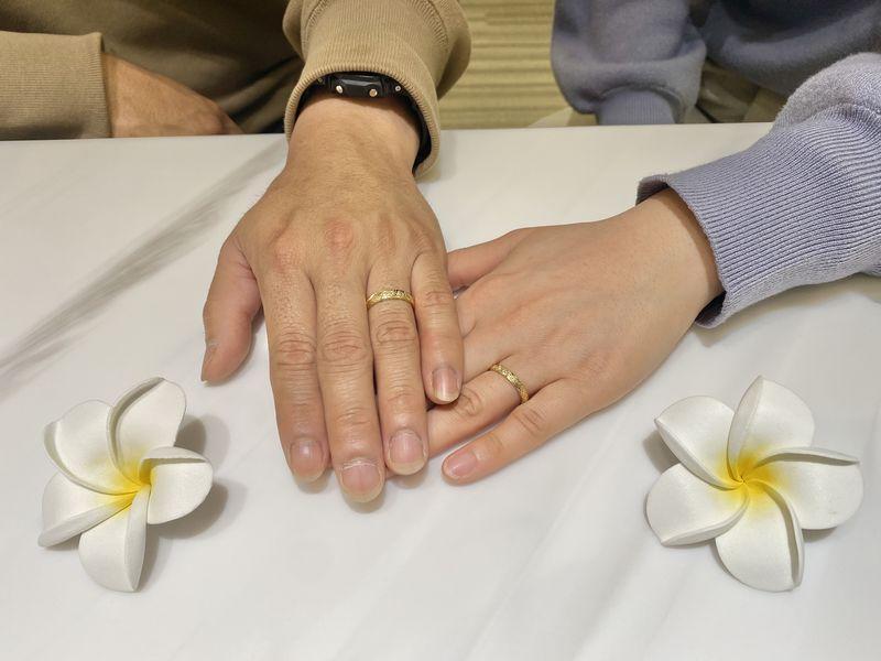 西宮市 MAILEの結婚指輪をご成約頂きました