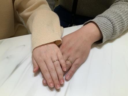 小野市 lettet mitte (レテットミッテ)の結婚指輪をご成約頂きました。
