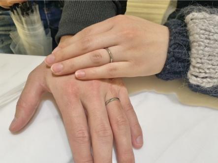 明石市 FISCHERの結婚指輪をご成約頂きました。